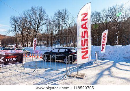 Cars Event Nissan X-tour At The Ski Resort Krasnaya Glinka In Samara, Russia