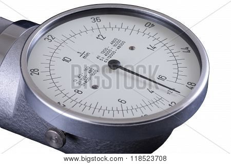 Tachometer, Old Rpm Counter Showing Zero, Clipping Path