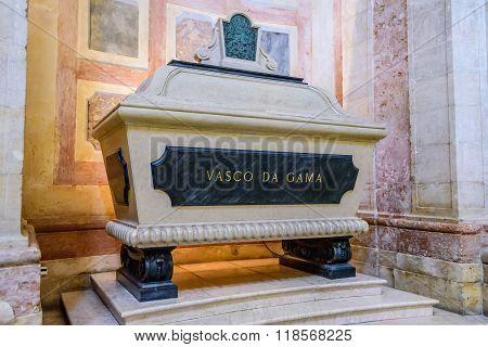 A Symbolic Tomb Of Vasco Da Gama