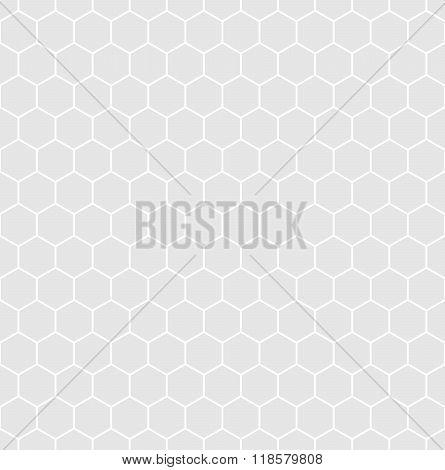 Seamless hexagonal background