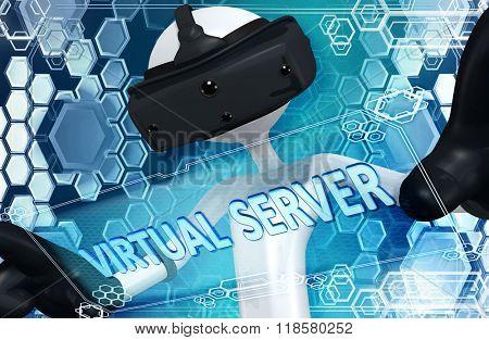 Virtual Reality VR Server
