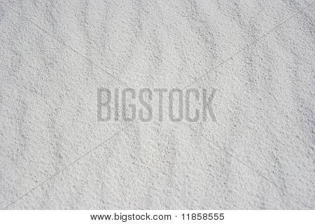 White sand texture or background