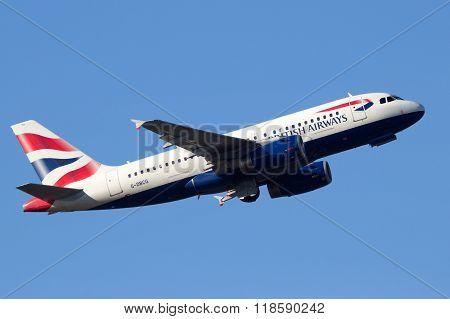 British Airways Airbus A319