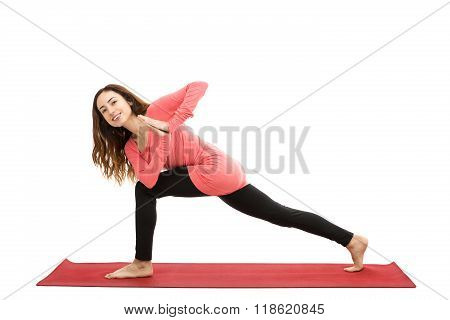 High Lunge With A Twist