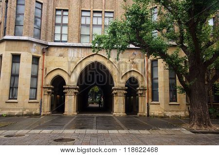 University of Tokyo called Todai. Here is the first ranked research university in Asia