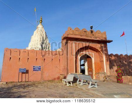 Surya Mandir - Temple Of The Sun God In Jaipur, India.