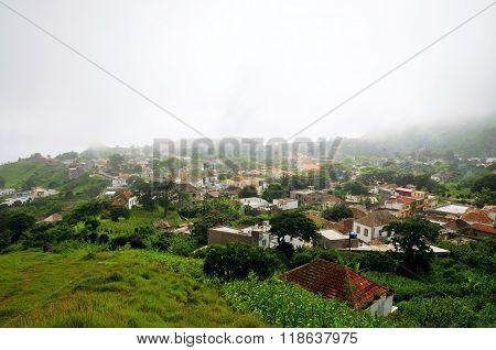 The City Of Nova Sintra In Brava