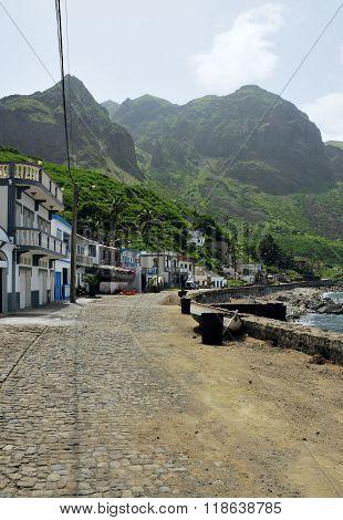 Main Road Of Fajan D'agua