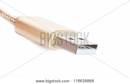Universal Serial Bus Brown Color