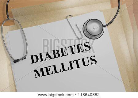 Diabetes Mellitus Concept