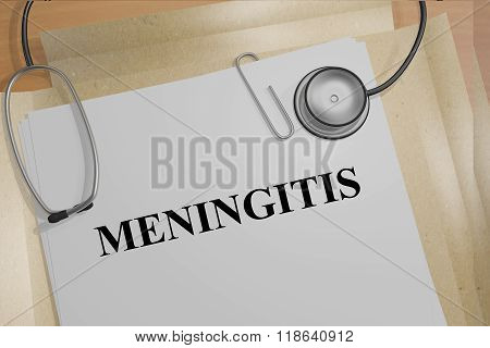 Meningitis Concept