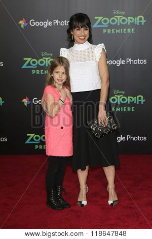 LOS ANGELES - FEB 17:  Constance Zimmer at the Zootopia Premiere at the El Capitan Theater on February 17, 2016 in Los Angeles, CA