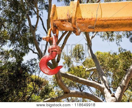 Farm Machinery: Hook and Screw Pin Shackle