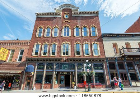 Historic Buildings Deadwood South Dakota