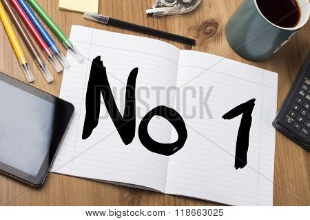 No1 - Note Pad With Text