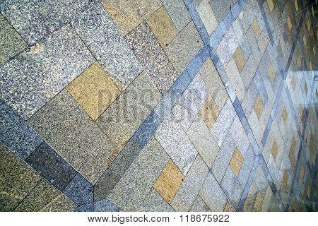 In    Cross Stone Step The   Temple Reflex