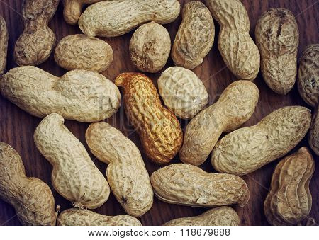 Background With Peanuts