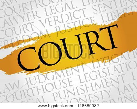 Court Word Cloud