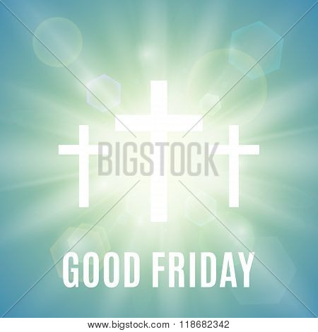 Good Friday religious background.