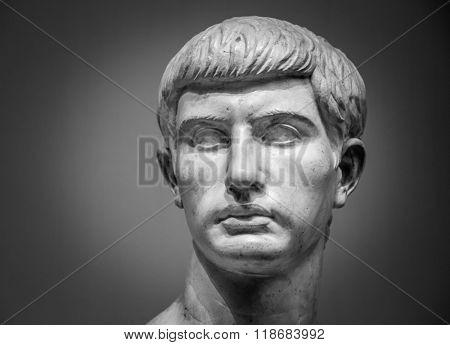 Marble sculpture of Marcus Junius Brutus
