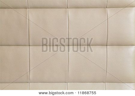 Leather beige