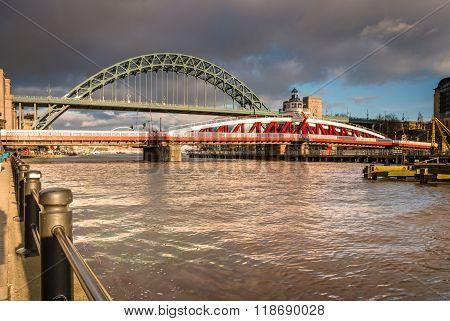 Swing And Tyne Bridges