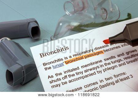 Bronchitis Treatments
