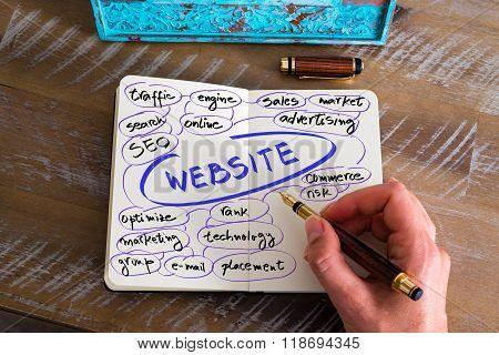 Handwritten Text Website