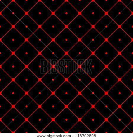 Polka Dot Seamless Pattern Rhombus Ornament 1