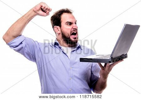 Mad At Laptop