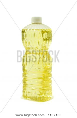 Pure Vegetable Oil; Angle View