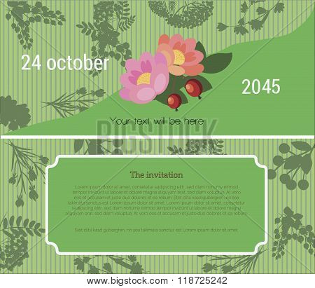 Invitation to the Flower Fair
