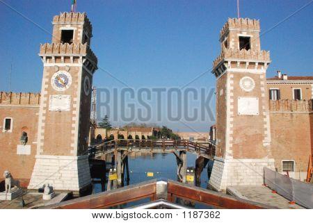 Sea Port Entrance