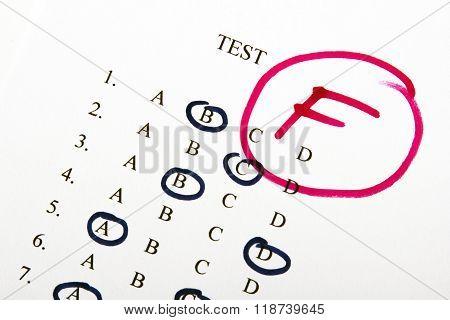 test results in school