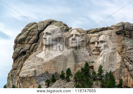 Mount Rushmore View