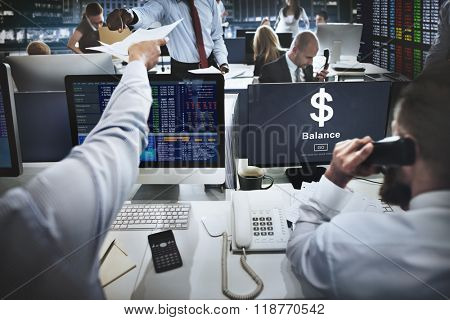 Business Stock Market Trading Professional Occupation Concept