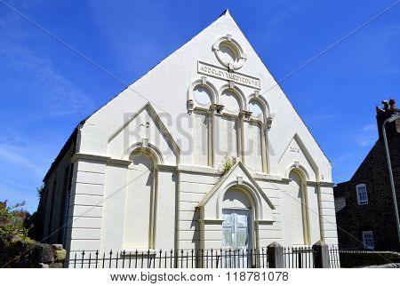 The former Bethesda Welsh Baptist Church in Conwy