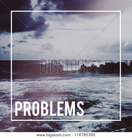Problems Solving Solution Challenge Failure Issue Concept