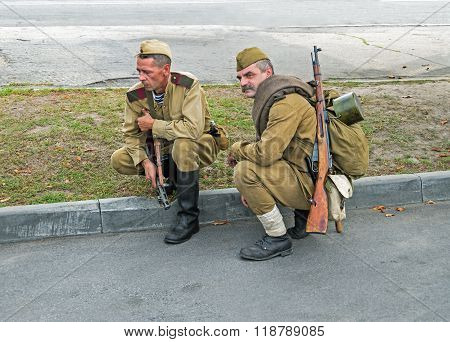 Soldiers Of Red Army