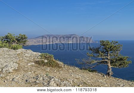 Crimea. View Of The Cape Meganom.
