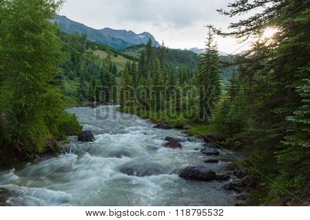 Keystone Gorge San Miguel River Telluride