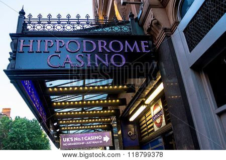 Famous Hippadrome Casino  In London, Uk.