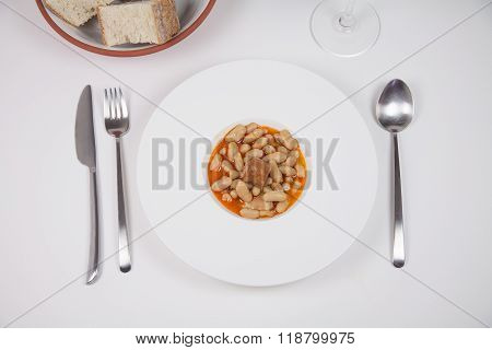 Asturian Fabada Ready To Eat