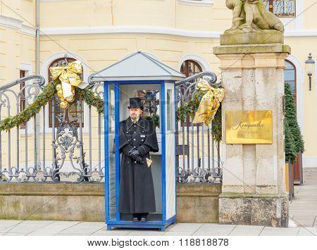 Dresden. Kempinski Hotel.