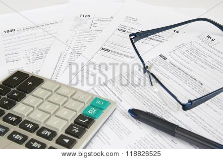 US Tax Forms 1