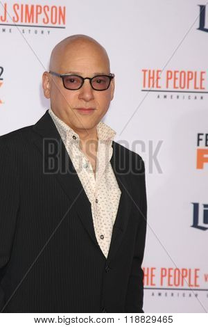 LOS ANGELES - JAN 27:  Evan Handler at the American Crime Story - The People V. O.J. Simpson Premiere at the Village Theater on January 27, 2016 in Westwood, CA