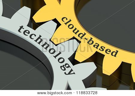 Cloud-based Technology Concept