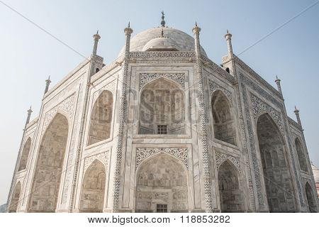 Unmatched Decorations of Taj Mahal