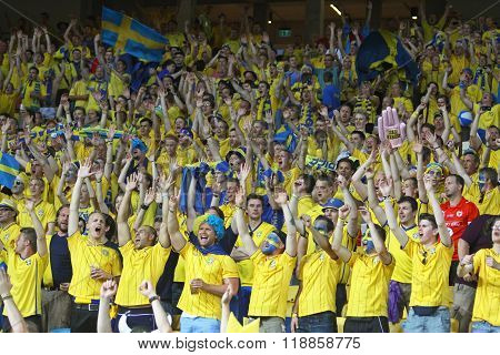 Swedish Football Supporters