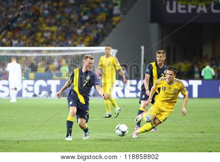 Uefa Euro 2012 Football Game Ukraine Vs Sweden